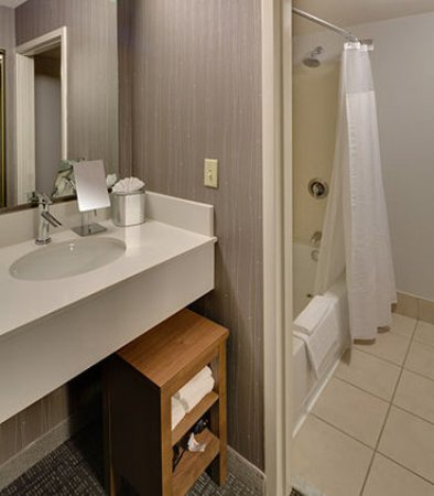 Earth City, Миссури: Suite Bathroom