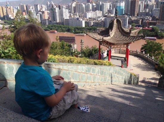 White Pagoda Mountain (Baita): Белая Пагода Lanzhou