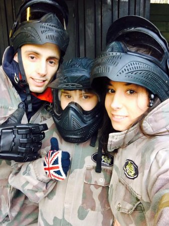 Eccles, UK: We are proudly British and proudly play paintball!