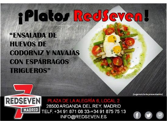 Arganda del Rey, İspanya: Platos RedSeven