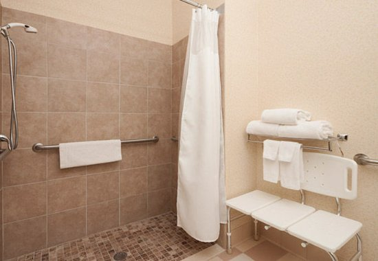 Hudson, WI: Accessible Guest Bathroom - Roll-In Shower