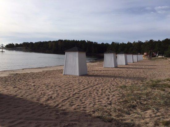 Hanko, Finlandia: spiaggia