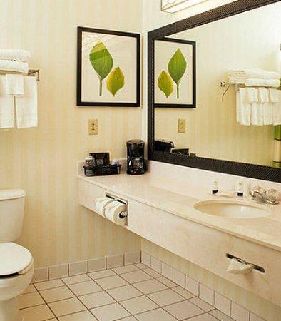 Manchester, CT: Suite Bathroom