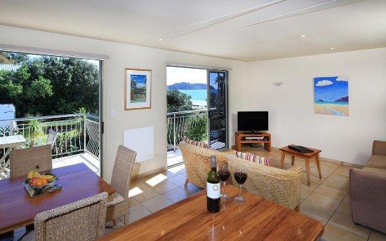 Onetangi, نيوزيلندا: room