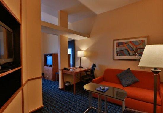 Burlington, واشنطن: Suite – Living Area
