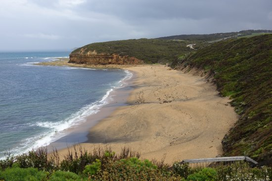 Torquay, Australia: The beach from the lookout