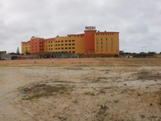Atouguia da Baleia, Portugal: VU DE L HOTEL DES CHAMBRES SANS BALCON