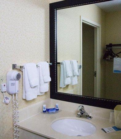 Fairfield Inn & Suites Cleveland Streetsboro: Guest Bathroom