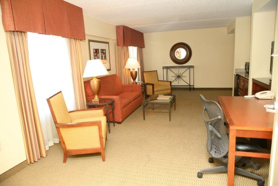 Terre Haute, Индиана: Suite Living Room