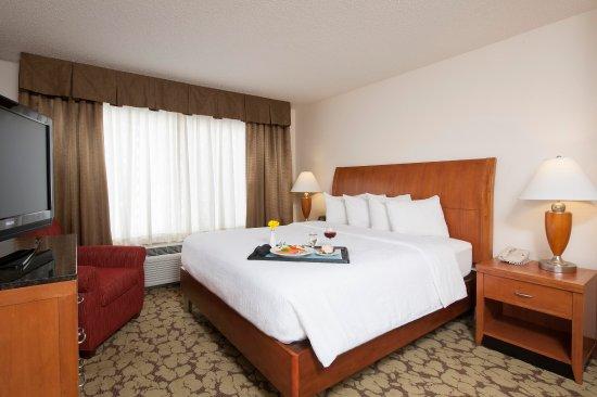 Oakdale, Minnesota: Hilton Garden Inn St. Paul/Oakdale - Bedroom Suite  