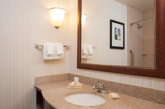 Oakdale, Minnesota: Hilton Garden Inn St. Paul/Oakdale - Standard Bathroom  