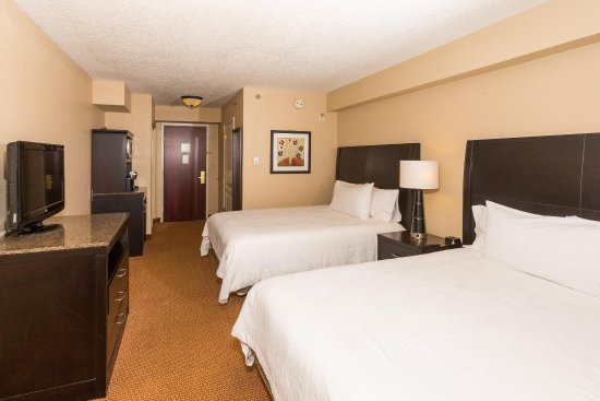 Hilton Garden Inn Daytona Beach Airport: Junior Suite with 2 Queen Beds