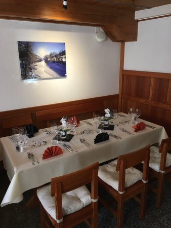 Munster, สวิตเซอร์แลนด์: Restaurant Walliserhof