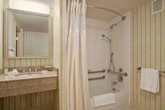 Bridgewater, Νιού Τζέρσεϊ: Accessible Guest Bathroom