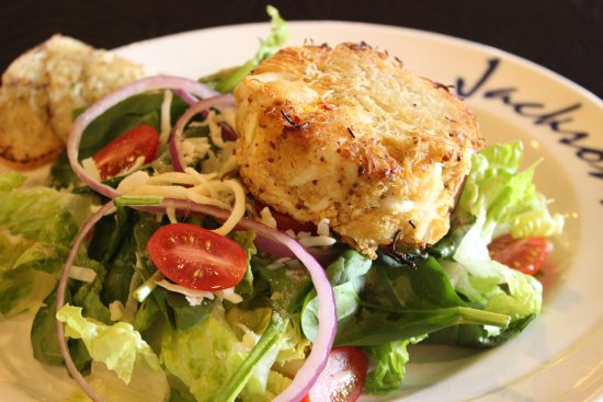 Canonsburg, Pensilvania: Crabcake Salad