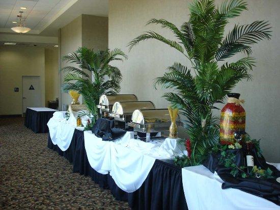 Victorville, Kalifornia: Buffet Setup