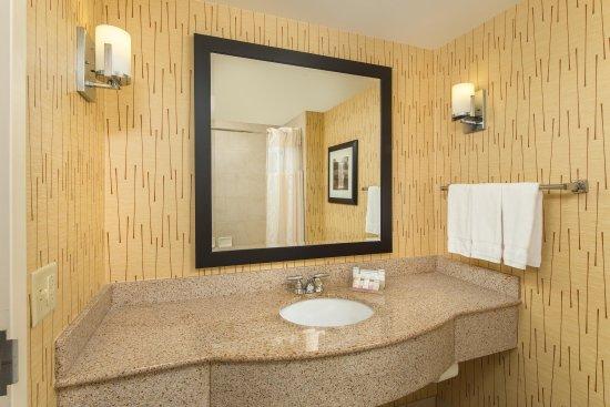 Hilton Garden Inn Chattanooga / Hamilton Place: Standard Bathroom