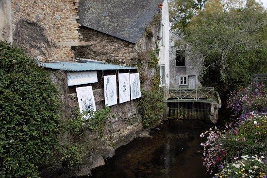 Pont-Aven, Francia: Ballade le long de la riviére