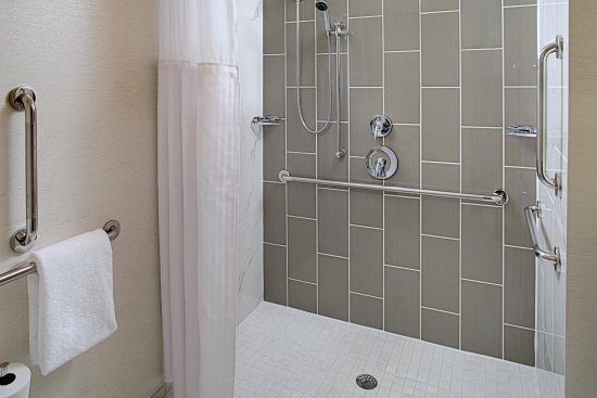 Dedham, MA: Accessible Bathroom with Roll-In Shower