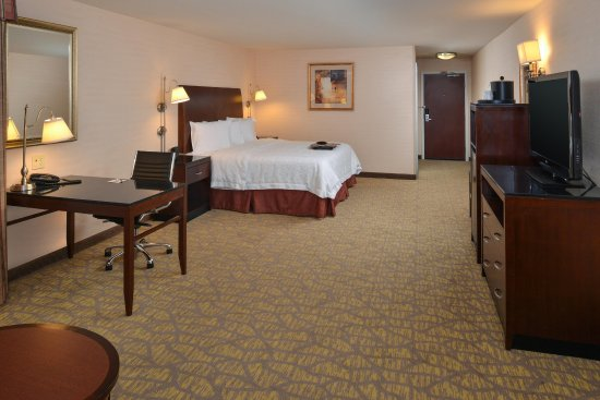 Hampton Inn & Suites Tacoma-Mall: King Room View