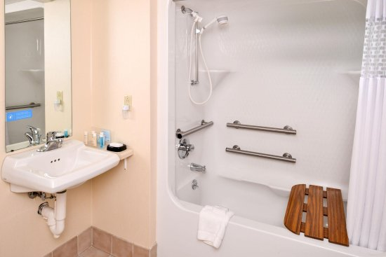 Mobility Accessible Tub - Picture of Hampton Inn Springfield ...