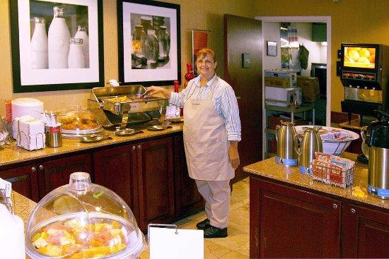West Springfield, MA: Breakfast Hostess