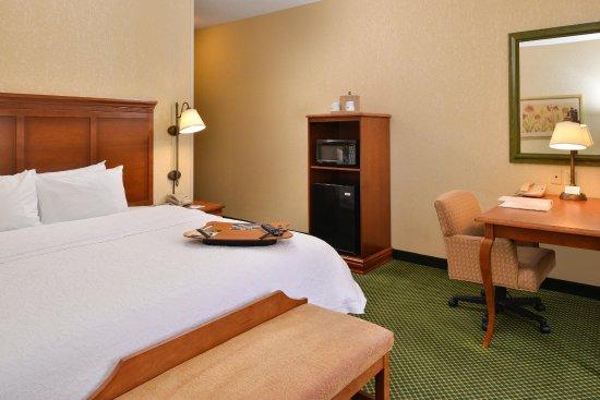 Hampton Inn & Suites St. Louis-Edwardsville: King Room Amenities