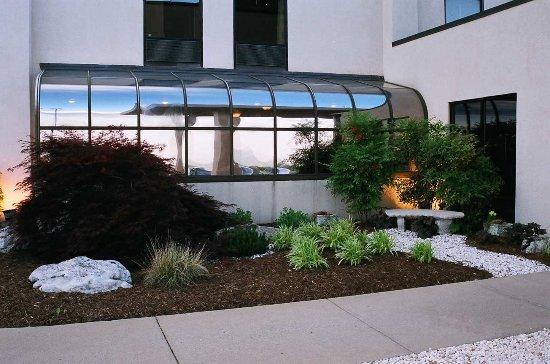 Staunton, Wirginia: Garden Sitting Area