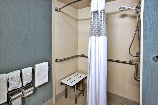 Seekonk, MA: ADA Accessible Bathroom with Roll-in Shower