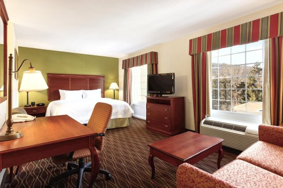 Hampton Inn & Suites Greenfield: King Studio Suite