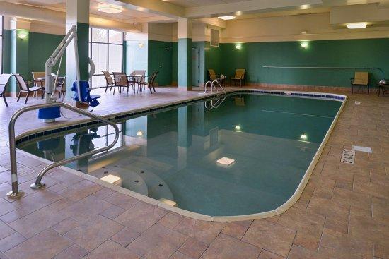 Springboro, Οχάιο: Indoor Hotel Pool