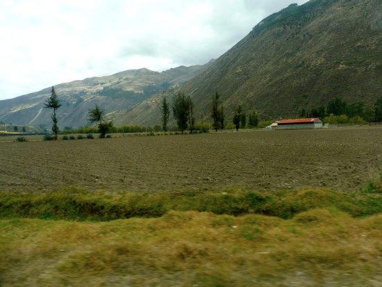 Провинция Куско, Перу: Campi arati nella valle sacra