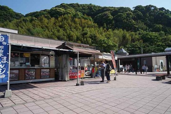 Aira, Japonia: 中のお土産売り場もかなり充実しています。