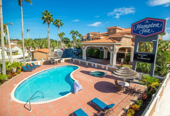 Hampton Inn St. Augustine-Historic District: Outdoor Pool