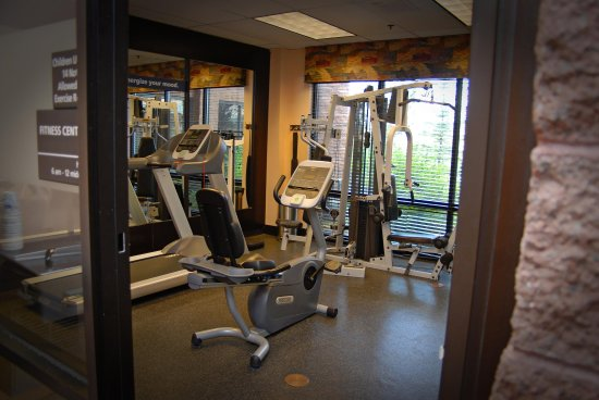 هامبتون إن آند سويتس بارك سيتي: Fitness Centrt
