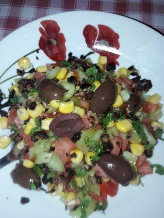 Zagora, Grecja: Salad