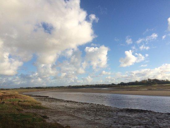 Poulton Le Fylde, UK: 目の前の川