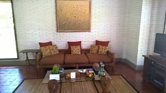 The Chedi Club Tanah Gajah, Ubud, Bali – a GHM hotel: Suite sitting area