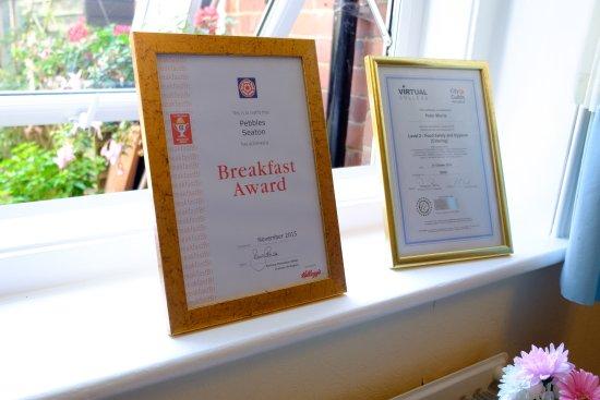 Seaton, UK: Breakfast Award