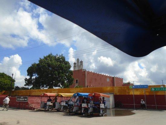 Yucatan, Mexico: town square