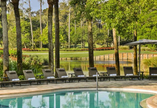 Ponte Vedra Beach, FL: Lagoon Pool View