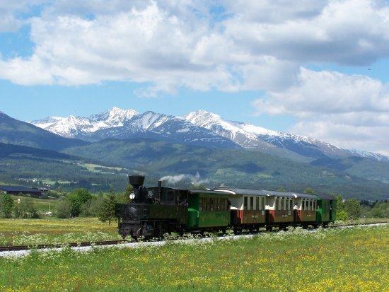 Taurachbahn Mauterndorf - Die höchstgelegene Schmalspurbahn in Österreich