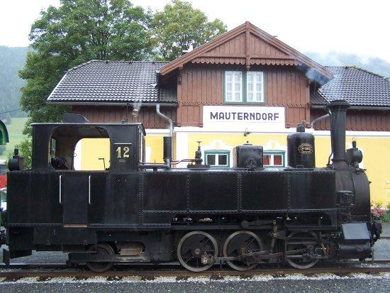 Bahnhof Mauterndorf im Salzburger Lungau