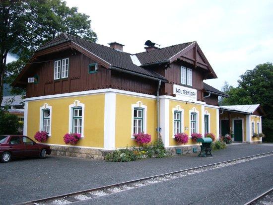 Der Bahnhof in Mauterndorf