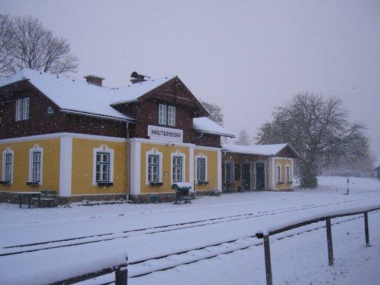Mauterndorf, ออสเตรีย: Bahnhof der Taurachbahn