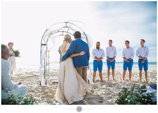Eland's Bay, Sudáfrica: Beach Wedding