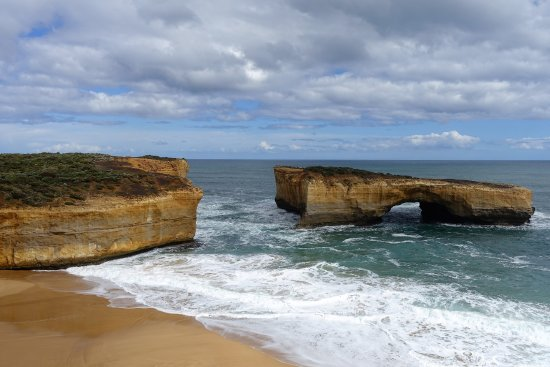 Port Campbell, ออสเตรเลีย: The view from the lookout