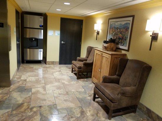 Holiday Inn Asheville - Biltmore East: Elevator Landing