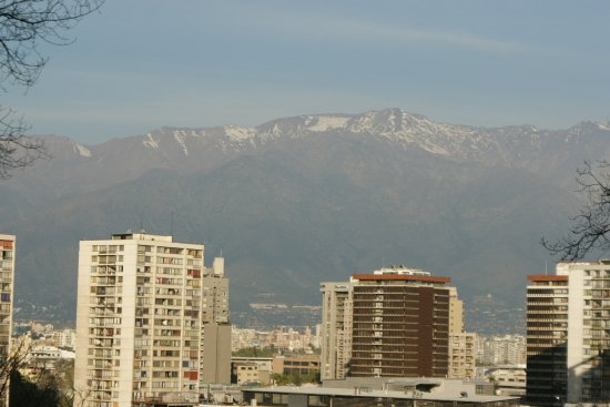 Santiago, Chile: Mountain and City View