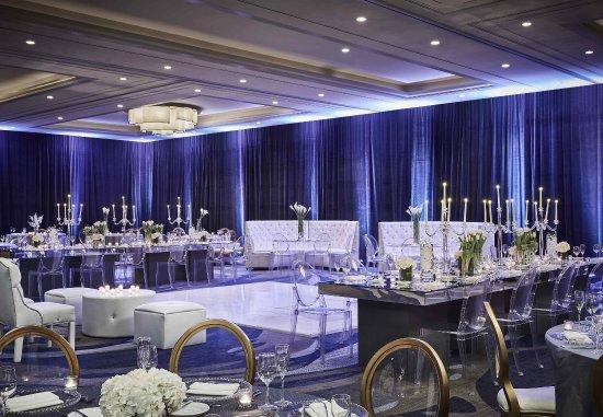 Marina del Rey, CA: California Ballroom – Social Set Up